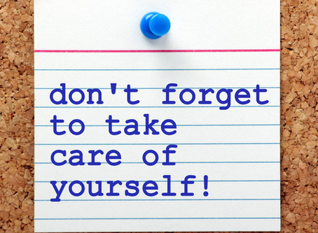 Self care -  A necessity for everyone!!