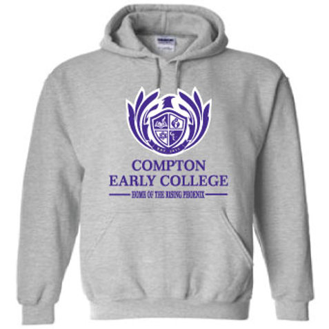 CEC PULLOVER HOODIE WITH LOGO