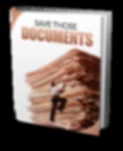 Divorce:  Save Those Documents