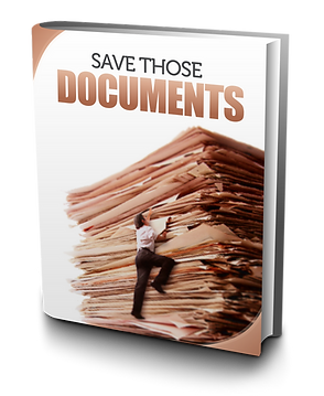 Divorce:  Save Those Documents