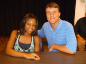 The most chaotic book signing with Gabby Douglas