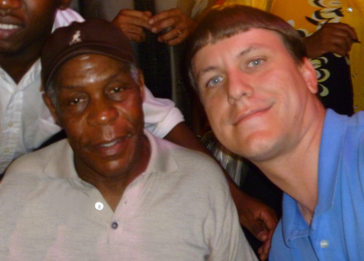 An unpleasant experience with Danny Glover