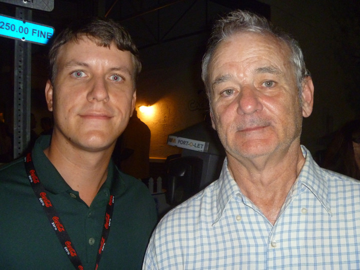 A Crazy Night with Bill Murray