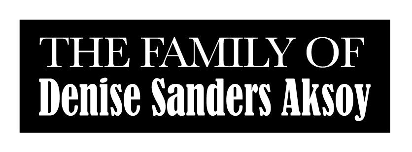 the family of Denise Sanders Aksoy logo-