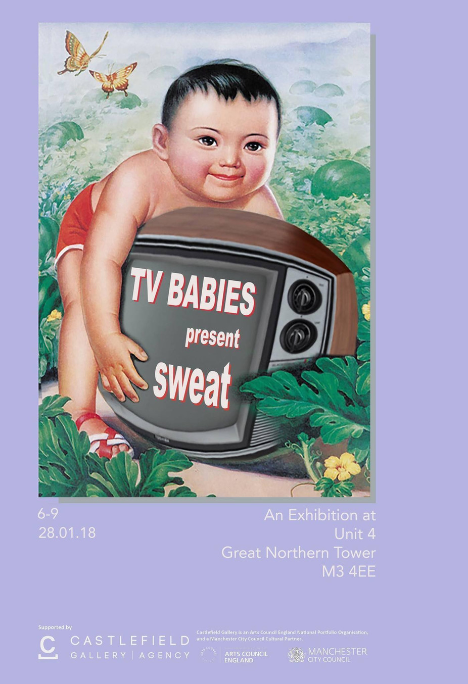 TV Babies present SWEAT at Castlefield new art spaces
