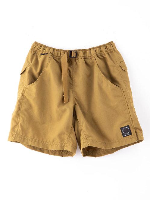山と道 5-Pocket Shorts Dull Gold