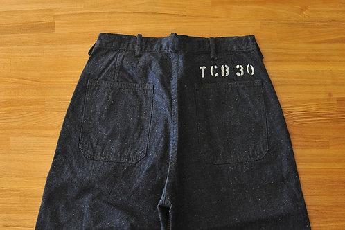 TCB jeans  SEAMENS TROUSERS / USN デッキ
