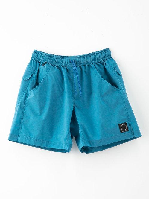 山と道 Light 5-Pocket Shorts Ocean Blue