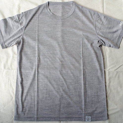 RIDGE MOUNTAIN GEAR Merino Basic Tee Short Sleeve