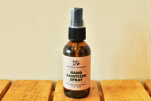 APOTHEKE FRAGRANCE HAND SANITIZER SPRAY