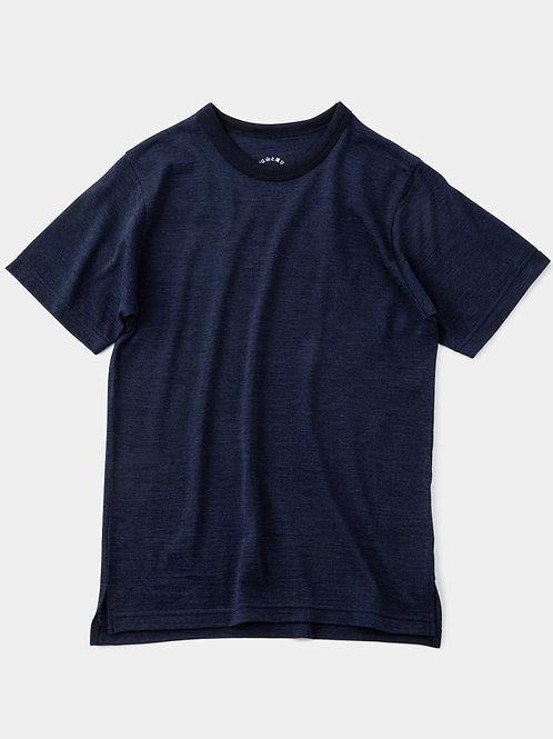 山と道 Light Merino Crew Neck T-Shirt