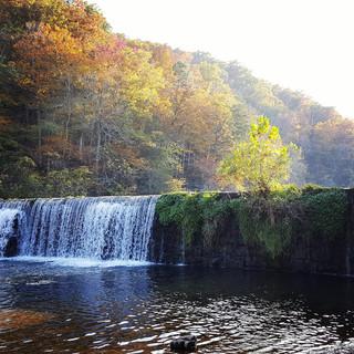 rockbridge in the fall