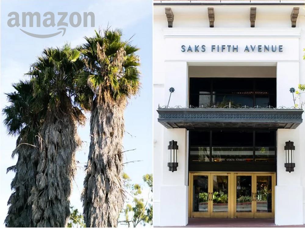 Amazon Santa Barbara taking over Saks
