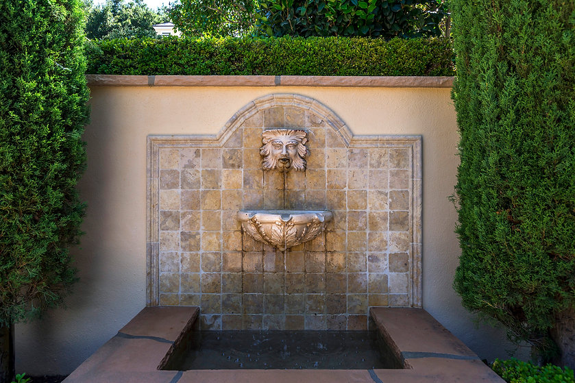 Santa Barbara Beautiful Award for ''Residential Renovation'' - Stunning Montecito Fountain