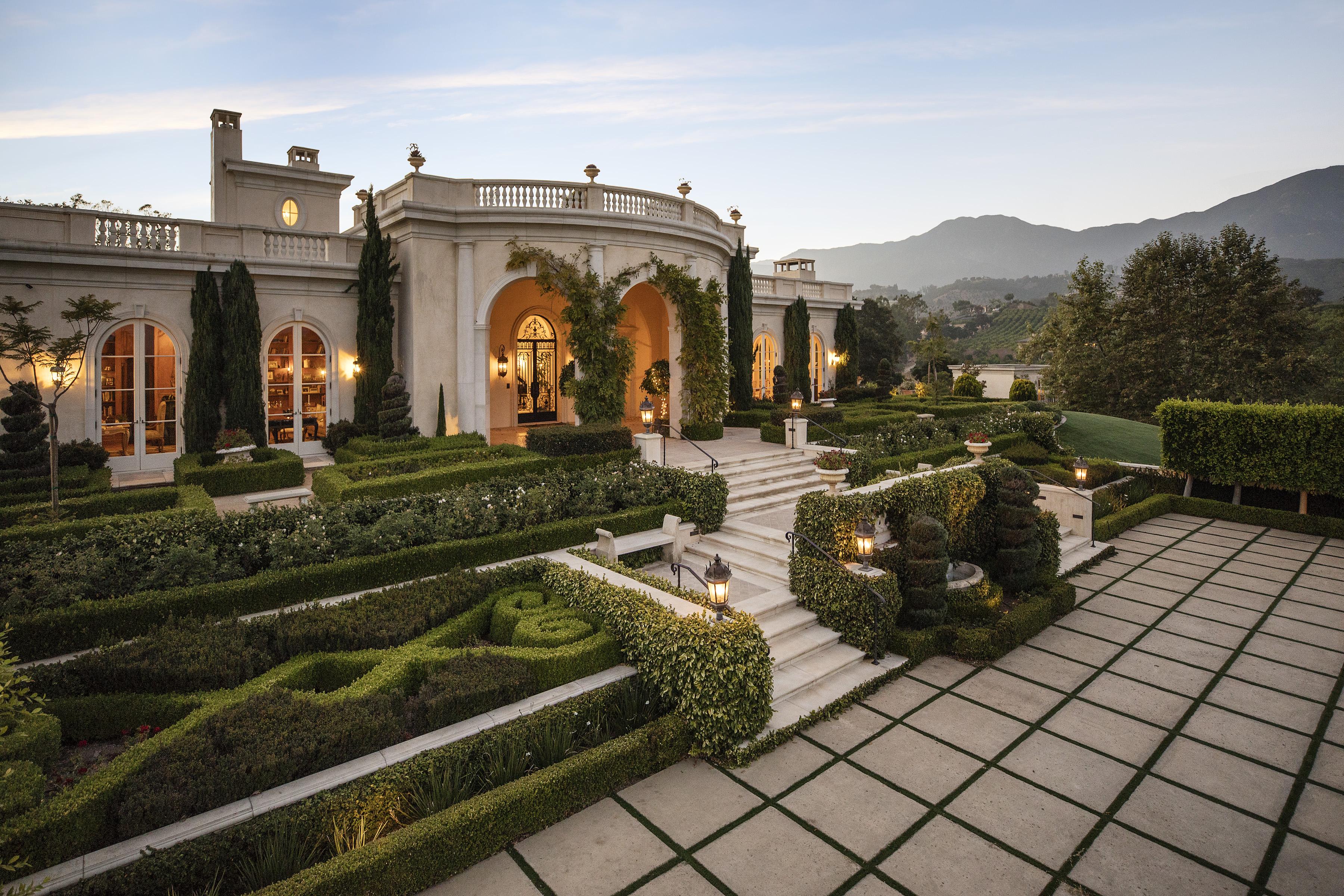 Tuscany Oaks Farm | Mediterranean Equestrian Estate in Summerland CA