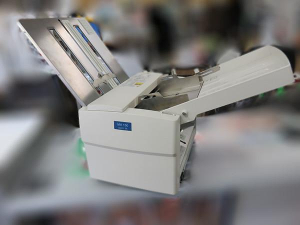 ドレスインの紙折り機 MA150 バナナ 菊水 のヤフオクに出品中!
