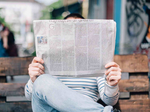 What are the different ways to promote your business in print media?