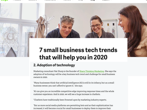 7 small business tech trends for 2020