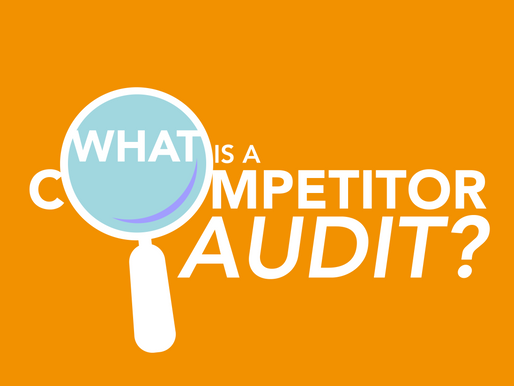 What is a competitor audit?