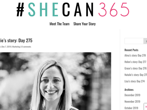 Feature in She Can 365