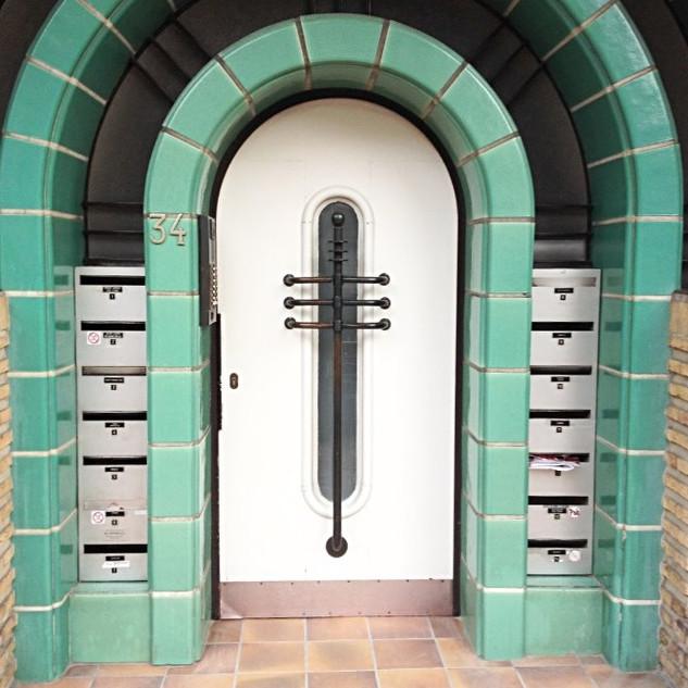Art Deco building entrance
