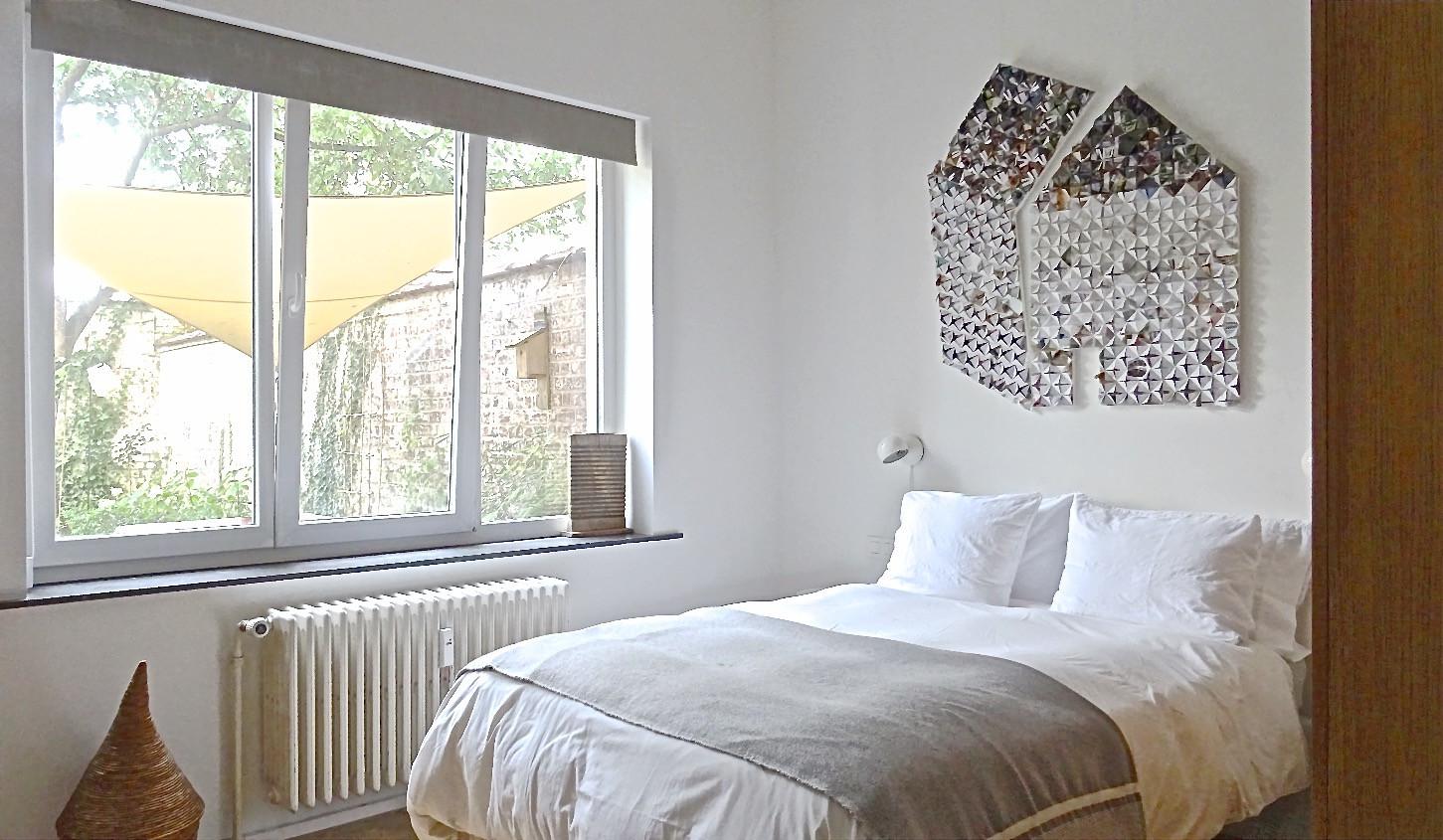 Wardrobe designed by architect Julien Legros.