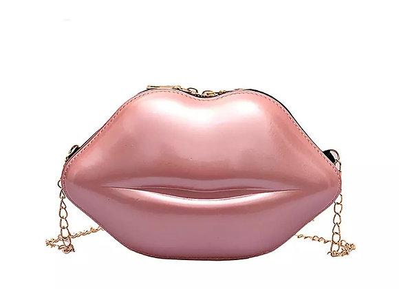 Gimme Kiss Bag-Pink Pearl