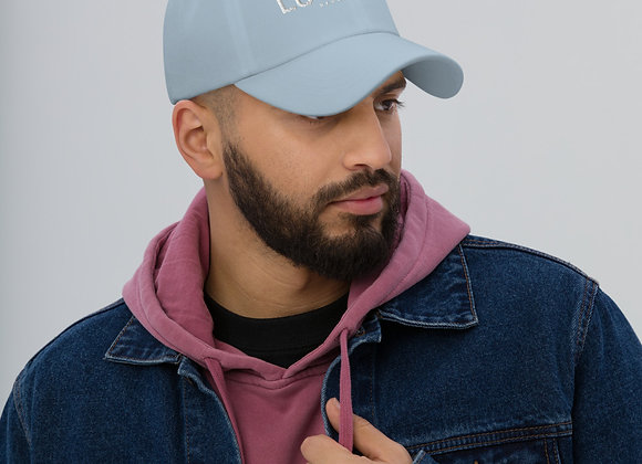 Baby Blue Lucky1020 Official Collection Dad hat