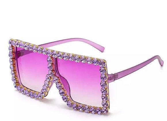 Crystal Clear- Deep Lilac
