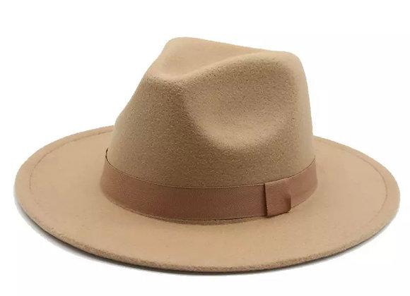 Hardaway Fedora Hat- Camel