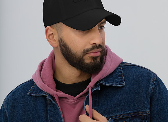 Black Lucky1020 Official Collection Dad hat