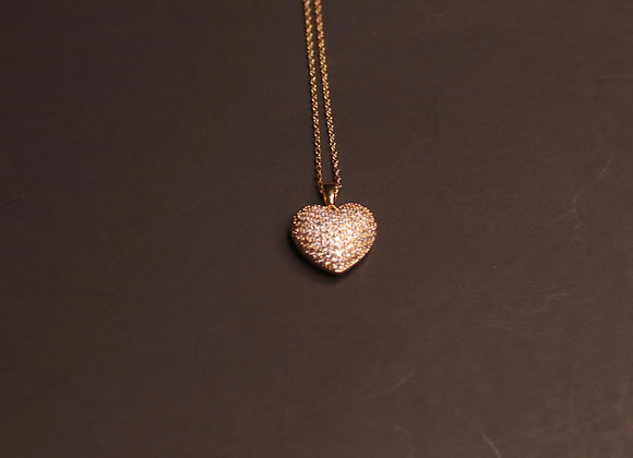 Love me necklace-gold
