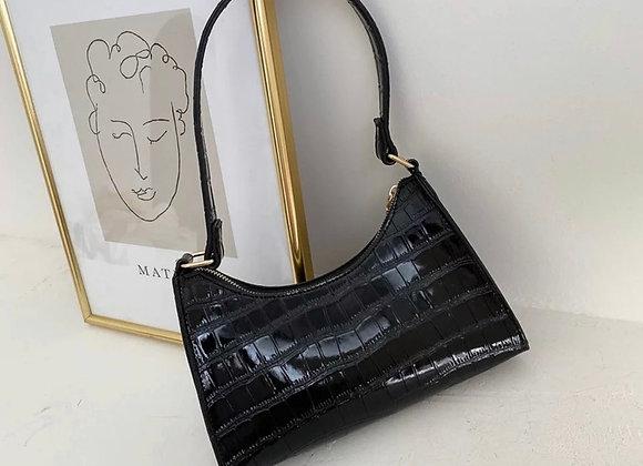 See ya Lator shoulder Bag- Black
