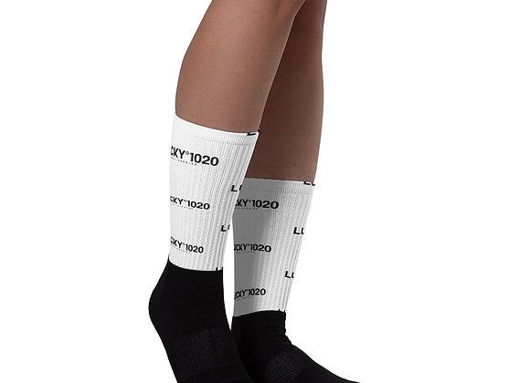 You Lucky anniversary Edition Logo Socks