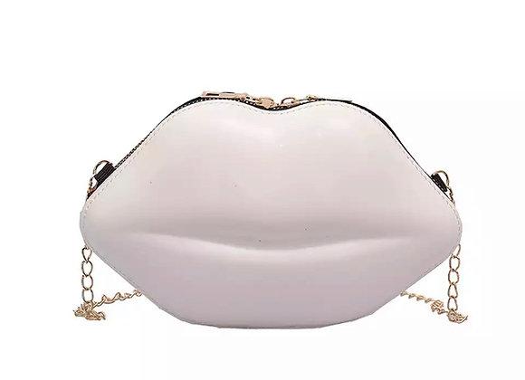 Gimme Kiss Bag- White