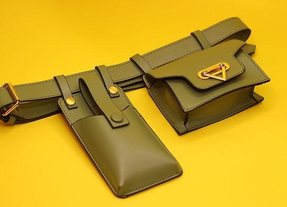 Warrior Waist Bag-Olive