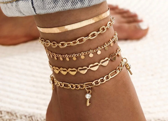 Collective Anklet Set