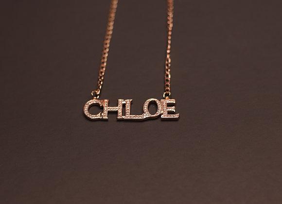 Stellar Custom Name Necklace
