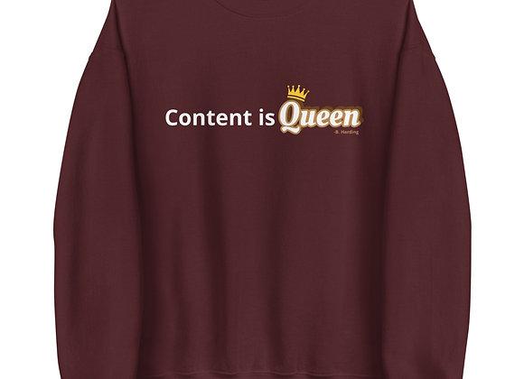 Content Queen- Maroon