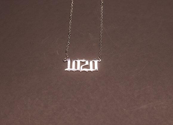 Stamped Custom Name Chain