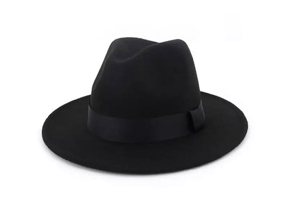 Hardaway Fedora Hat- Black