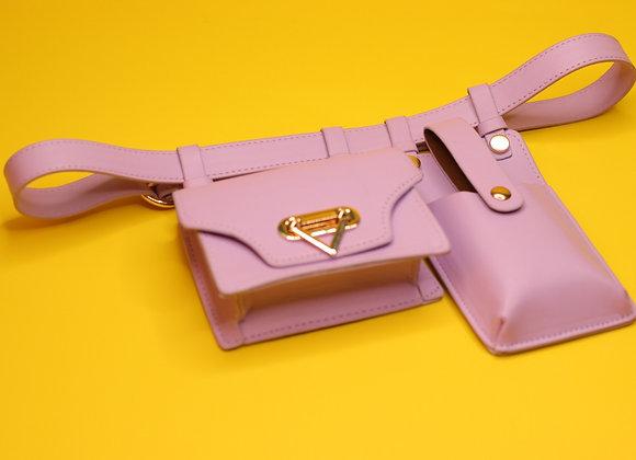 Warrior Waist Bag-Lilac