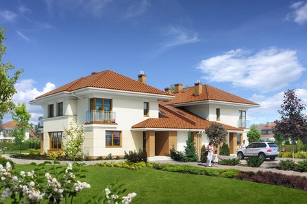 Dom pokazowy Osiedla Konstancja w Konstancinie-Jeziorna