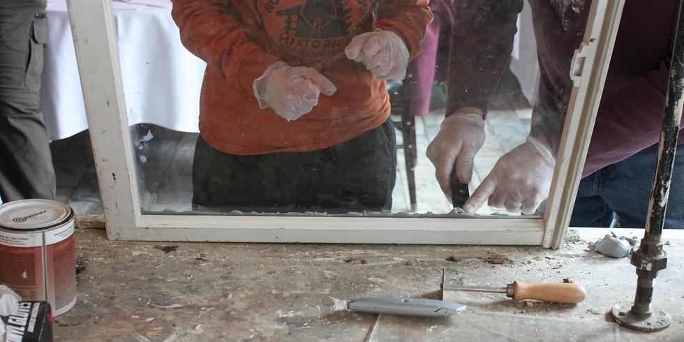 REHAB LAB: REPAIRING OLD WINDOWS
