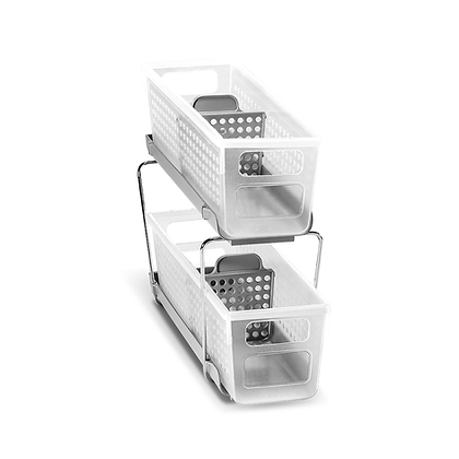 Mini Two Tier Organizer with Dividers