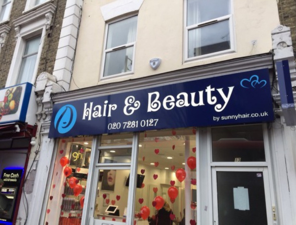 hair and beauty by sunnyhair salon front