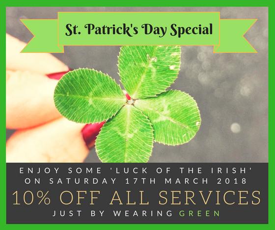 St Patricks Day Offer