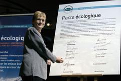 Reportage pour la Fondation Nicolas Hulot Pacte écologique Reproduction interdite