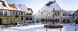 Le village de Wettolsheim 2021 Reproduction interdite