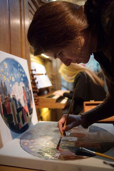 Métiers d'art artistes peintres - Atelier Pallages